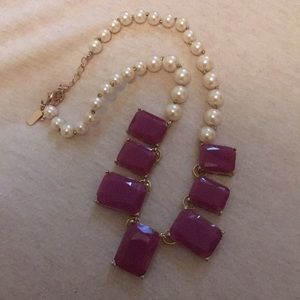 Kate Spade New York Purple Statement Necklace